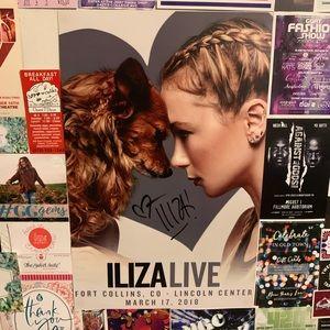 //SIGNED Iliza Shlesinger Poster//